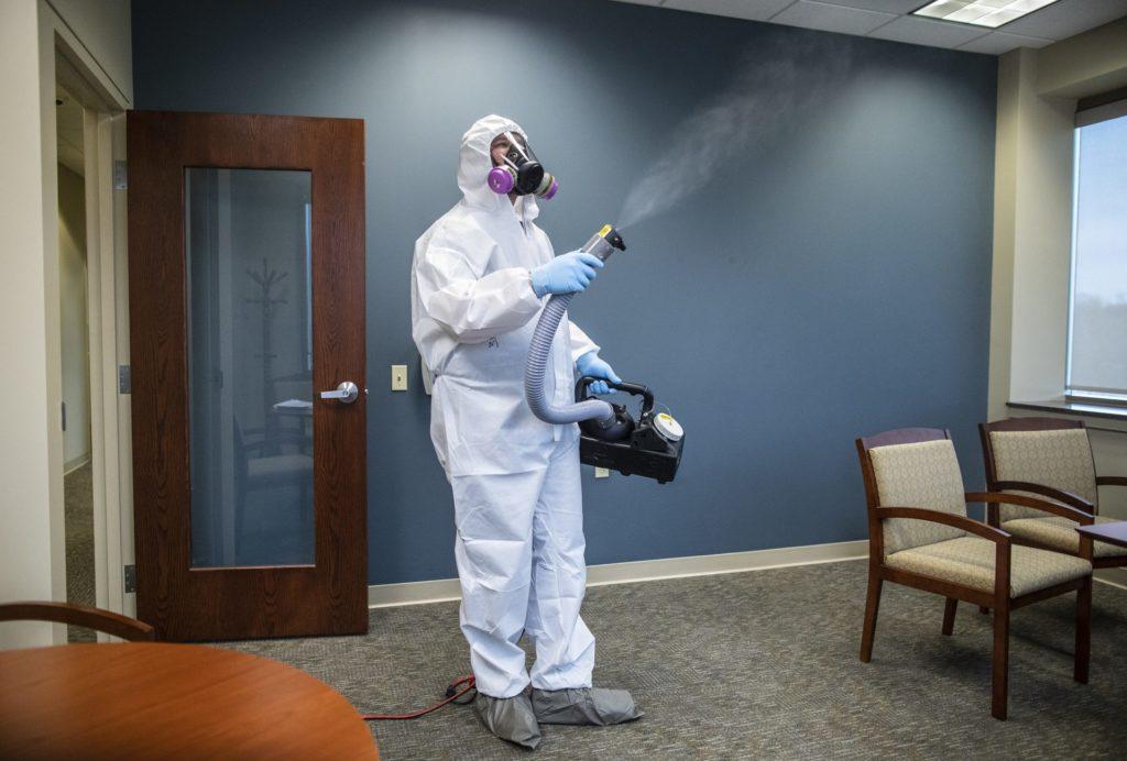 Coronavirus Cleaning Baltimore Maryland